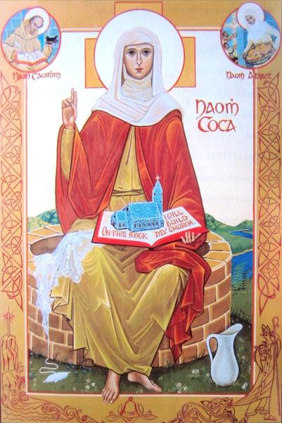 Ikon av Cocca i kirken i Kilcock